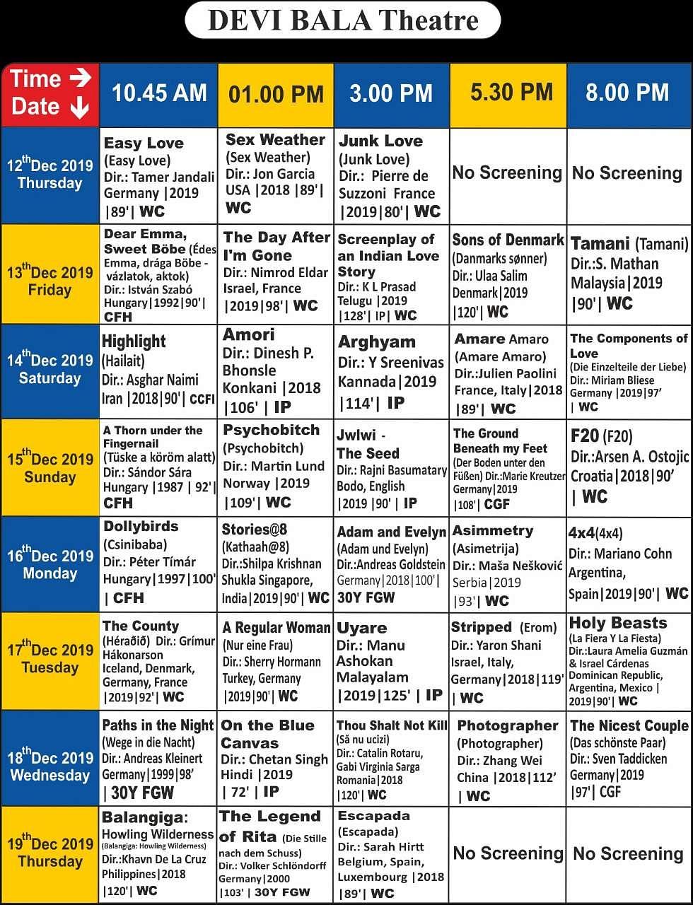 சென்னை சா்வதேச திரைப்பட விழாவில் திரையிடப்படும் படங்கள்: முழுப் பட்டியல்! Devi_bala_Screening_Details_(3)