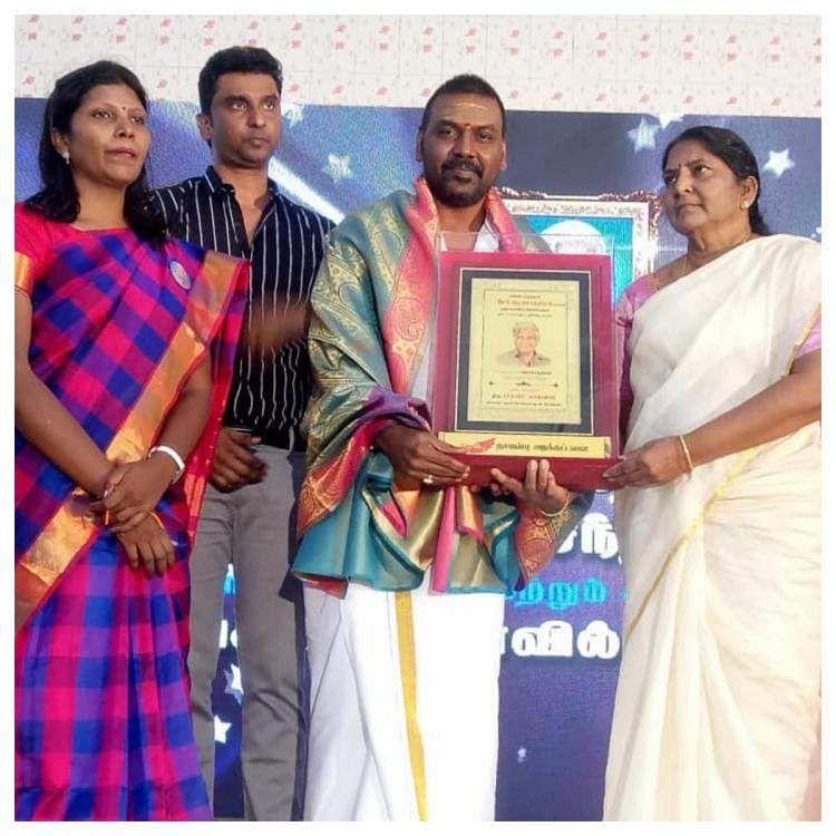 'மகிழ்ச்சியும், பொறுப்பும் அதிகரித்துள்ளது' விருது பெற்ற ராகவா லாரன்ஸ் Raghava_lawrence