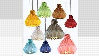 lamps_origami