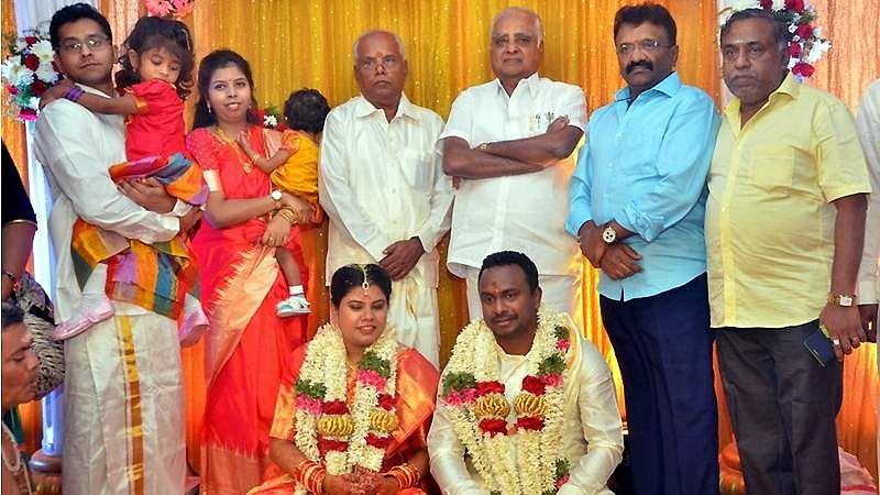 Producer-M-Ramanathan-Wedding-9
