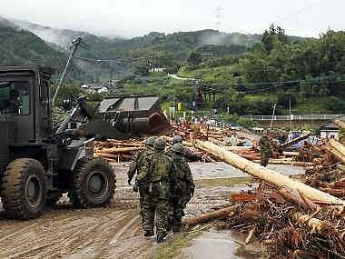 Japan-floods