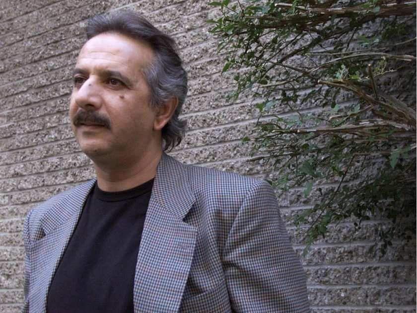 montreal-aug-27-02-iranian-film-maker-majid-majidi-stand