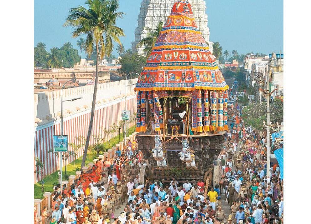 Image result for ஸ்ரீரங்கம் தை தேரோட்டம்