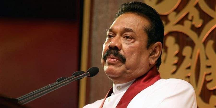 FormerSriLankanPresidentMahindaRajapaksa