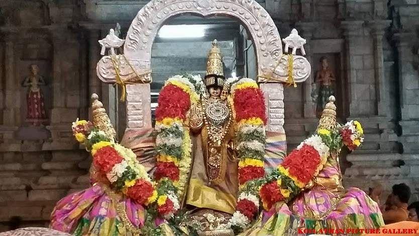 ஸ்ரீரங்கம் ரெங்கநாதர் கோயிலில் அக்.16 முதல் நம்பெருமாள் ஊஞ்சல் திருவிழா தொடக்கம் Srirangam6