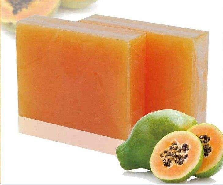 homemade_pappaya_soap