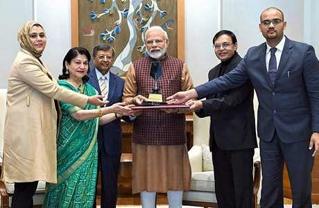 பிரதமர் மோடிக்கு பிலிப் கோட்லர் விருது! Modi