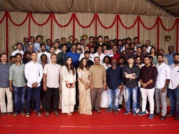 அட்லீ இயக்கத்தில் 'விஜய் - 63' பூஜையுடன் துவக்கம்  Vijay_63