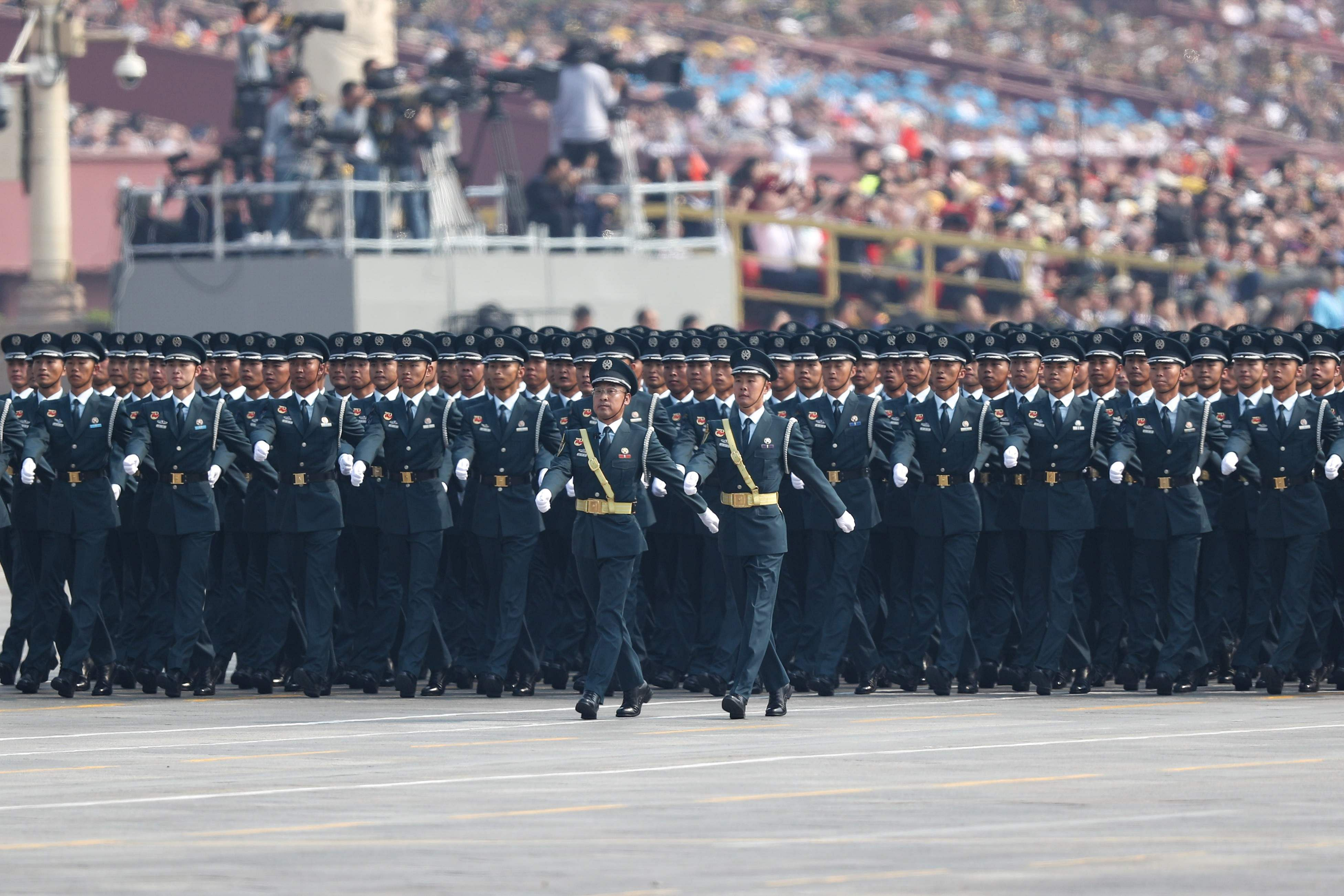 people Republic day in china