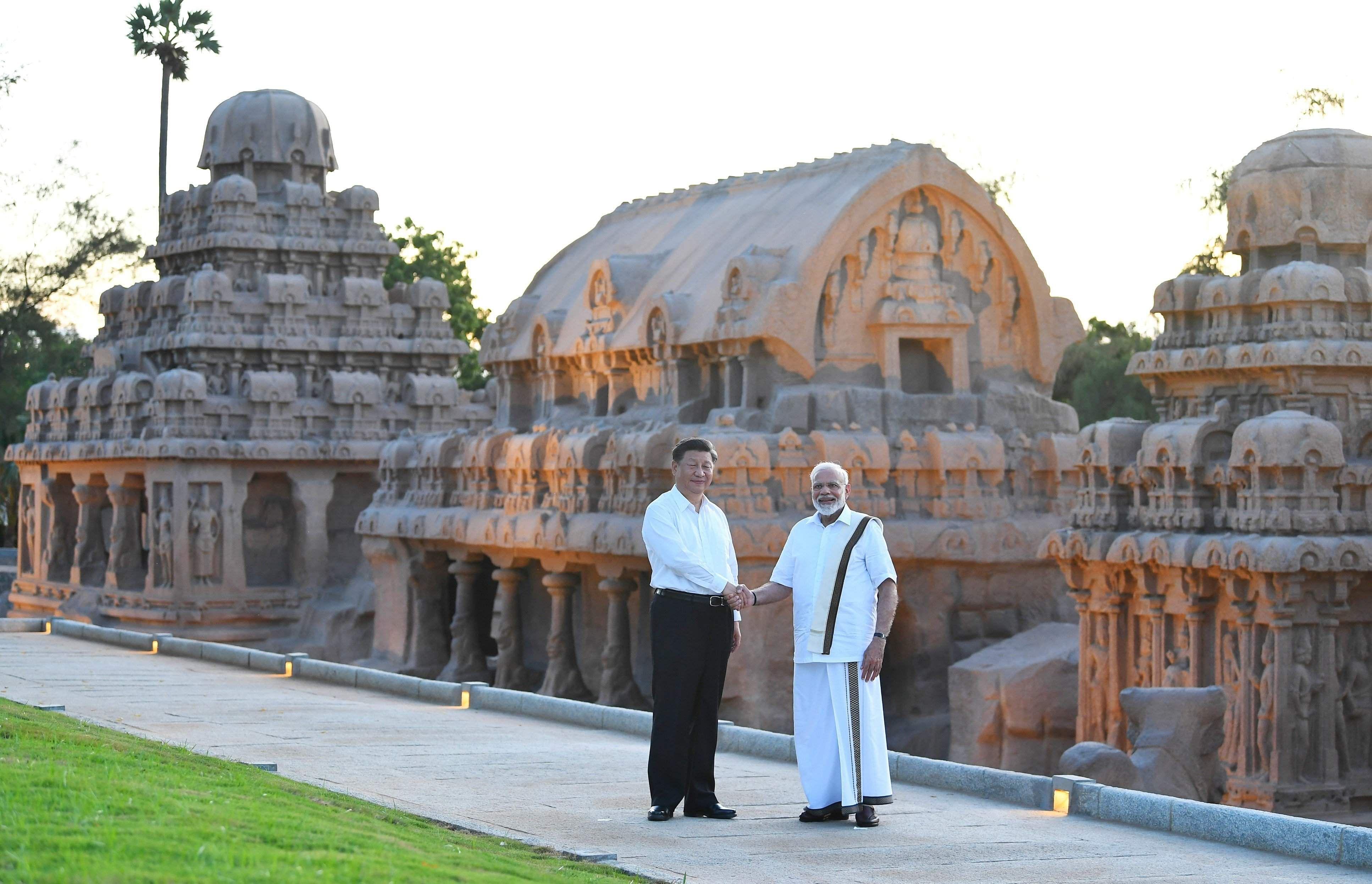 PM_Modi_Chinese_President_Mahabalipuram