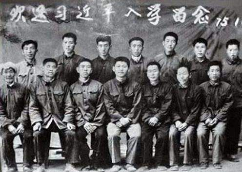 jinping in college days