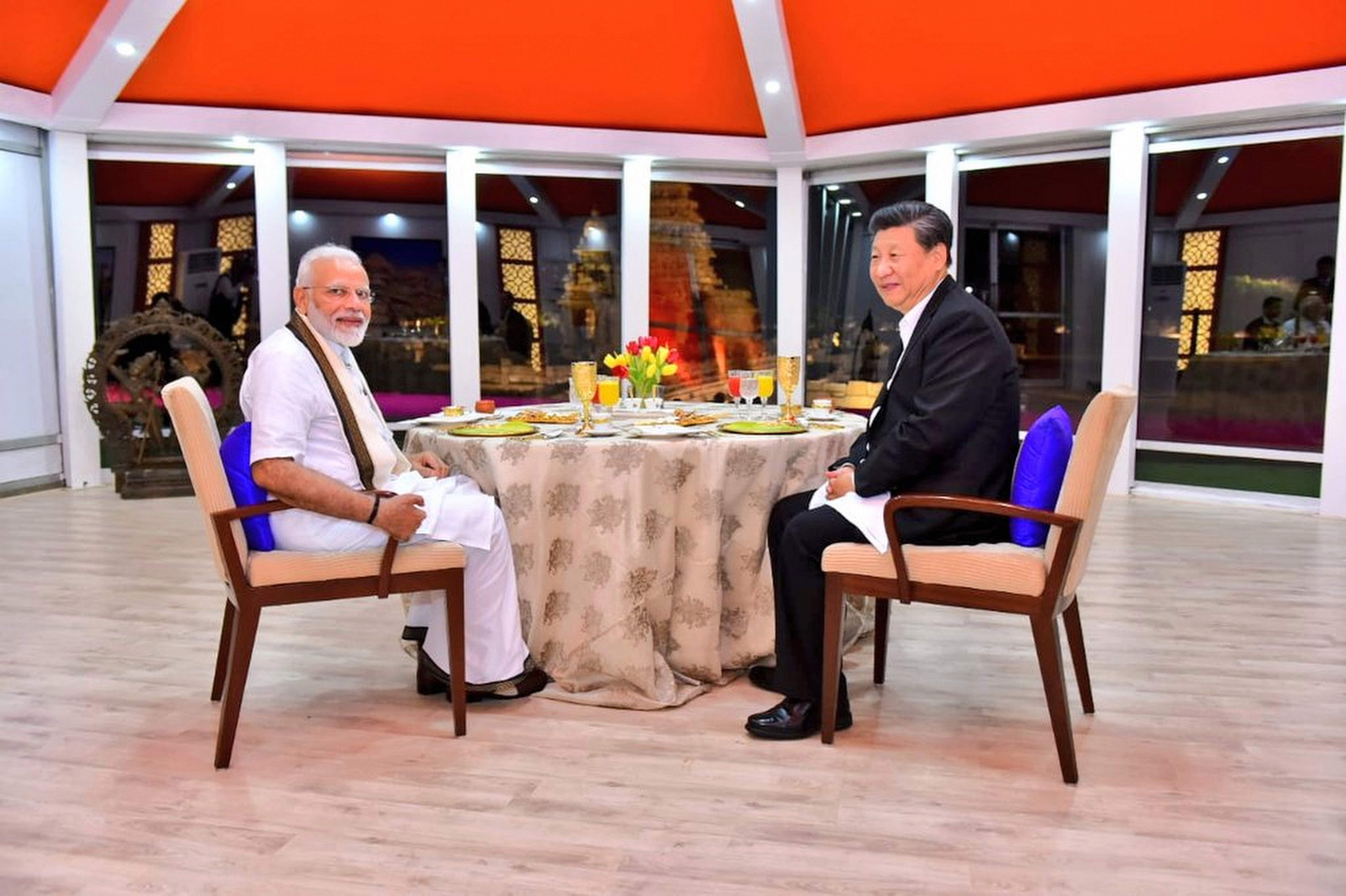 Modi_Xi_Jinping_Dinner