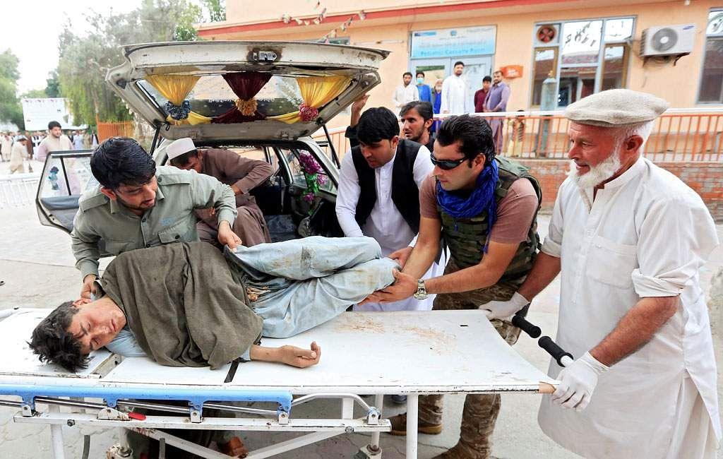 afghan mosque blast leaves 20 dead