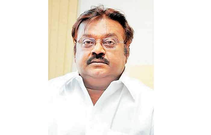 vijayakanth tweets about sedition case