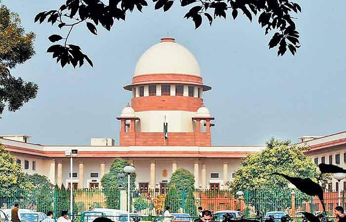 shivsena files pettion in Sc