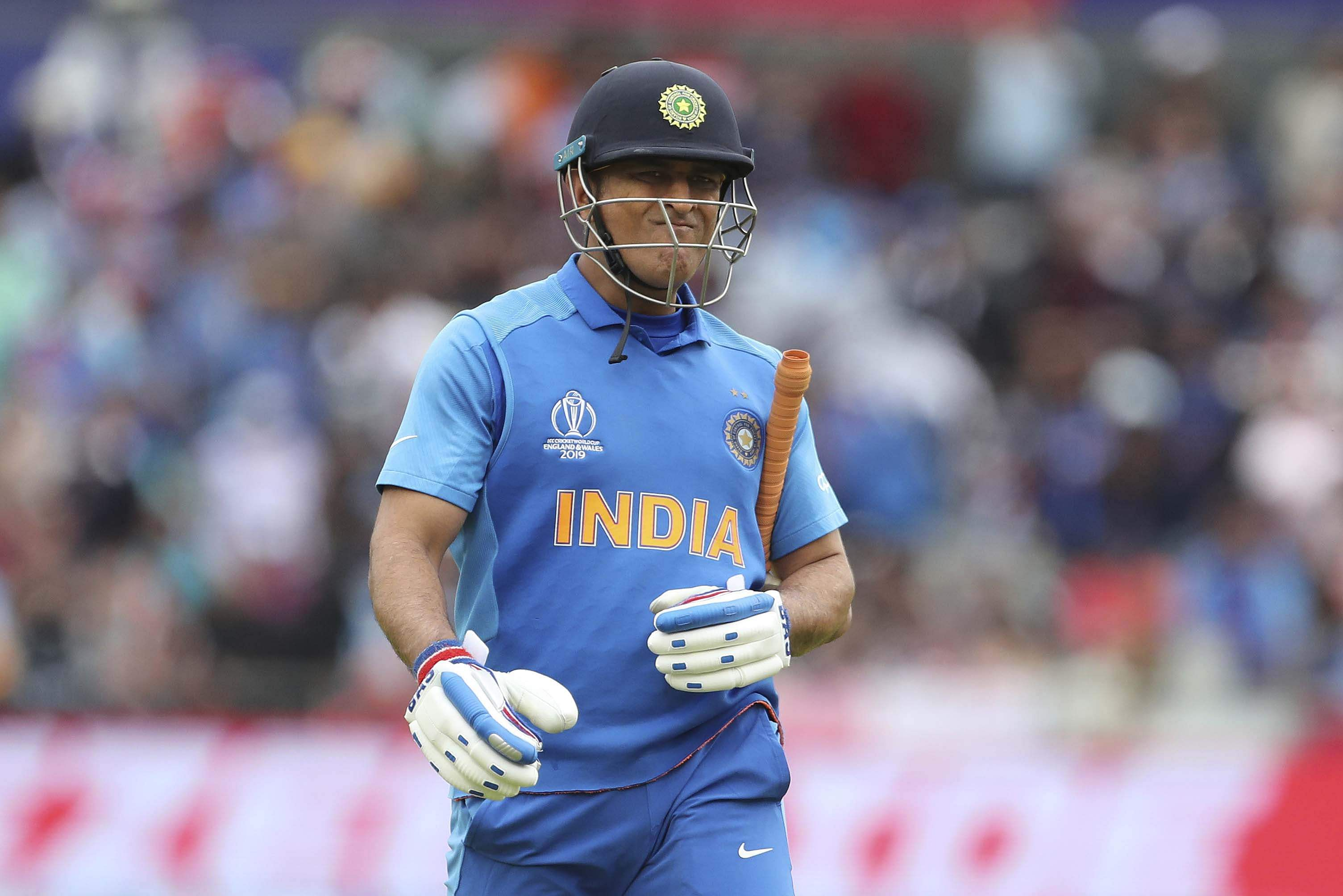 Dhoni World Cup Dismissal