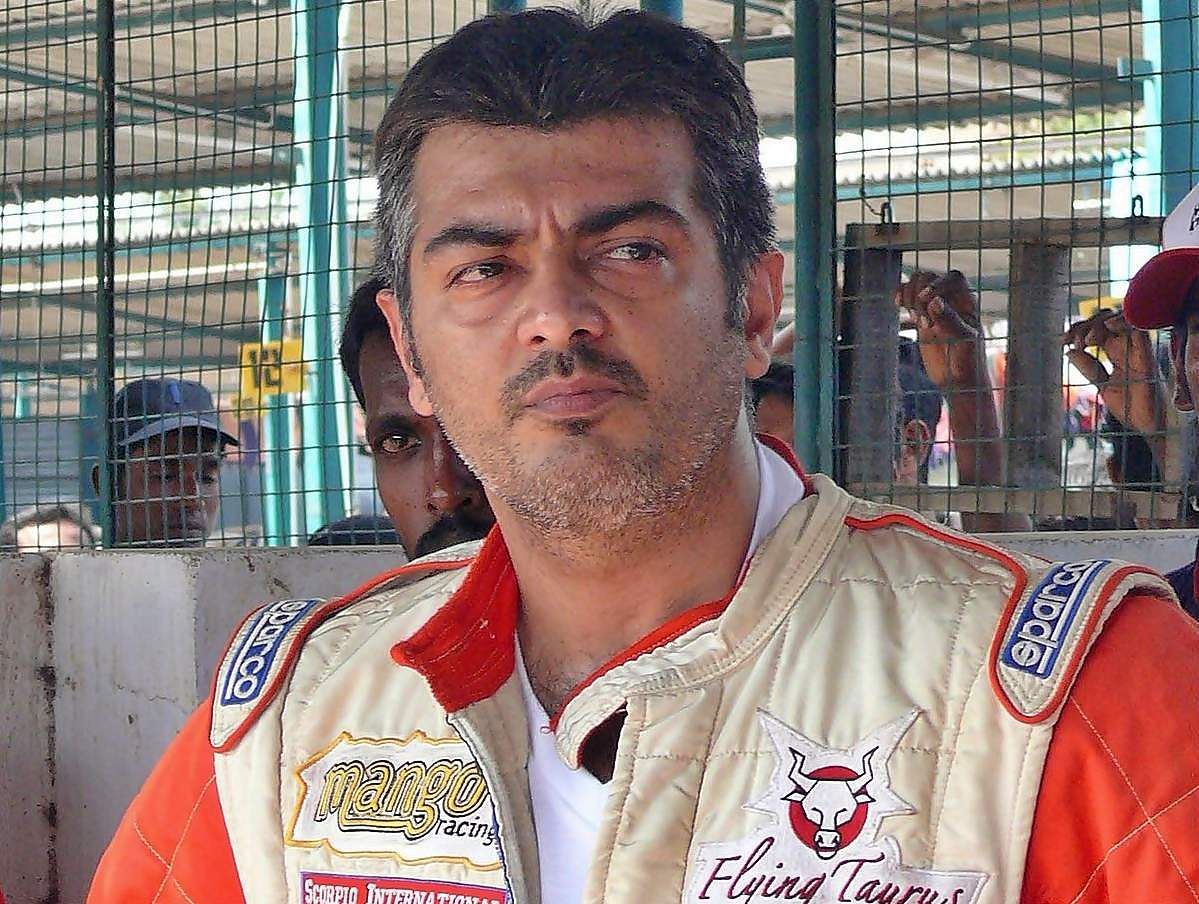 ajith_as_racer