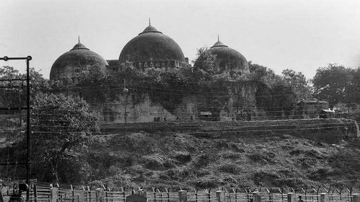 babri masjid old file image