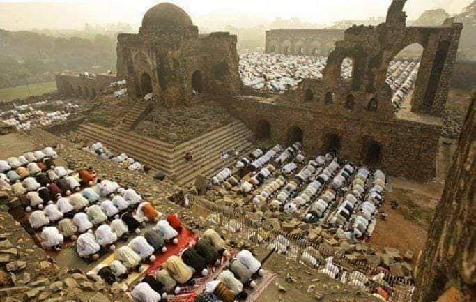 babri_masjid after demolition