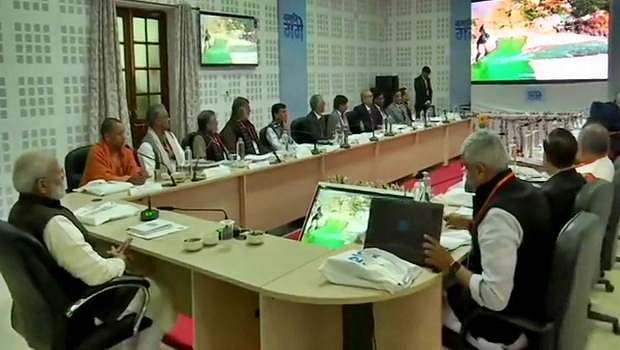 PM Modi chairs the first meeting of River Ganga Council