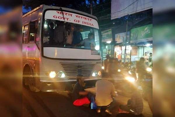 ISRO_buses_in_Thiruvananthapuram