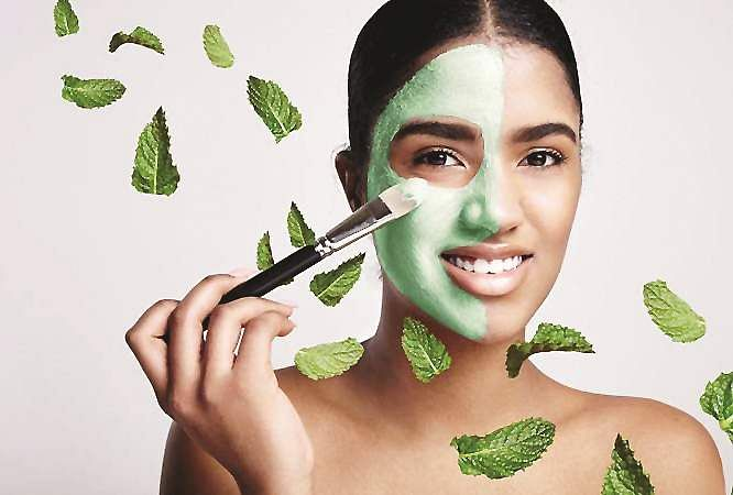 MINT-LEAVES-FACE-MASK