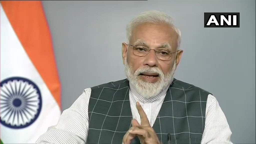 PM Modi  Speech Live