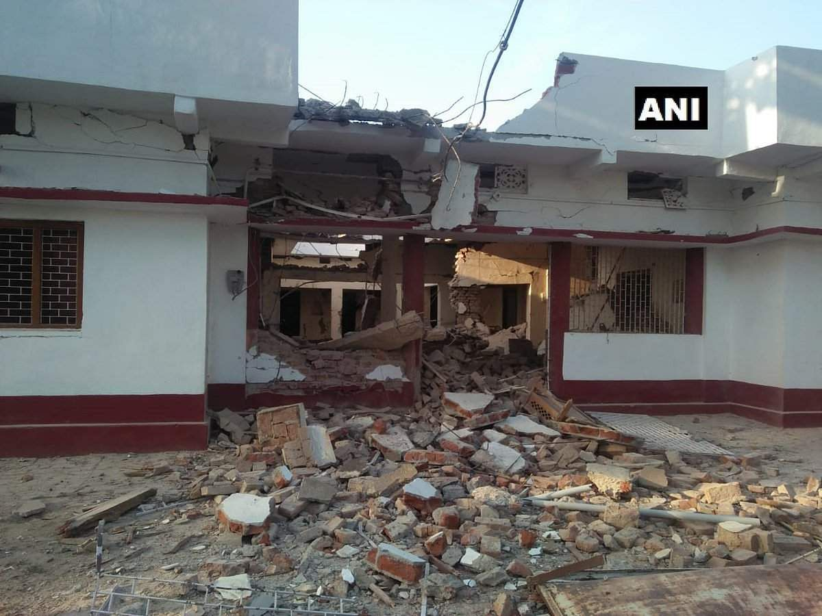 BJP_leader_house_blasted_by_Naxals