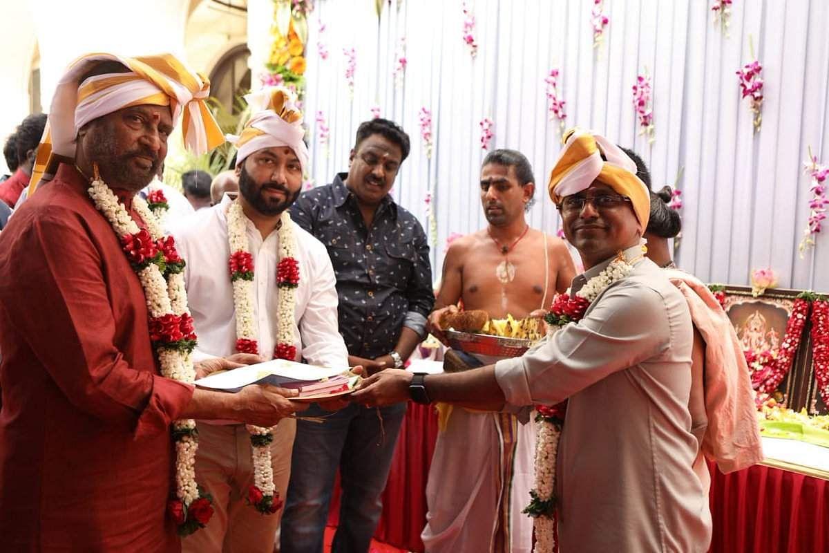 Ranjinikanth's Darbar Pooja