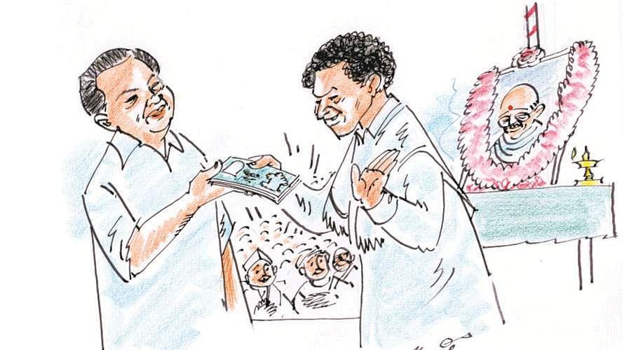 கலைவாணருடன் போட்டி-  சின்ன அண்ணாமலை Kadhir11