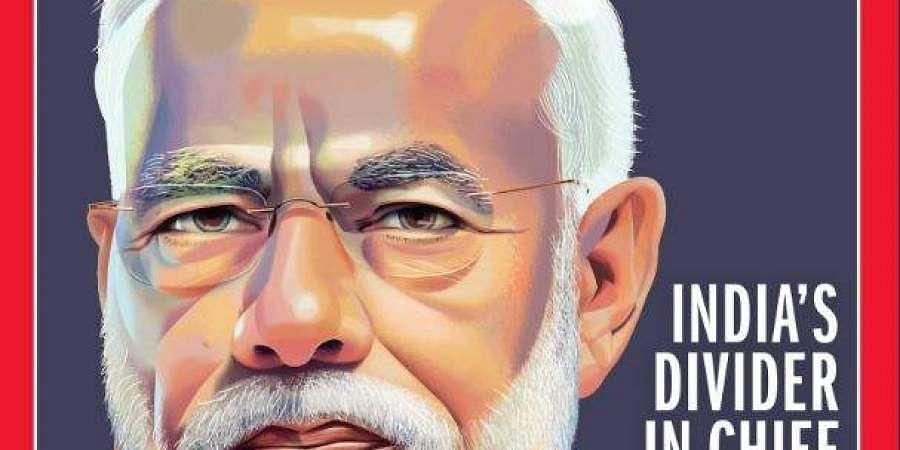'இந்தியாவின் முதன்மை பிரிவினைவாதி' சூடு கிளப்பும் அமெரிக்காவின் டைம் இதழ் தலையங்கம் Moditimemagazinecover
