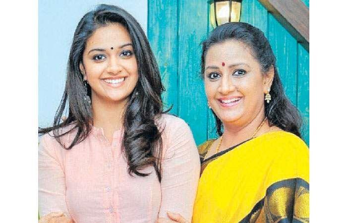 சிறந்த நடிகை விருது தாய்க்கு சமர்ப்பணம்! Keerthi