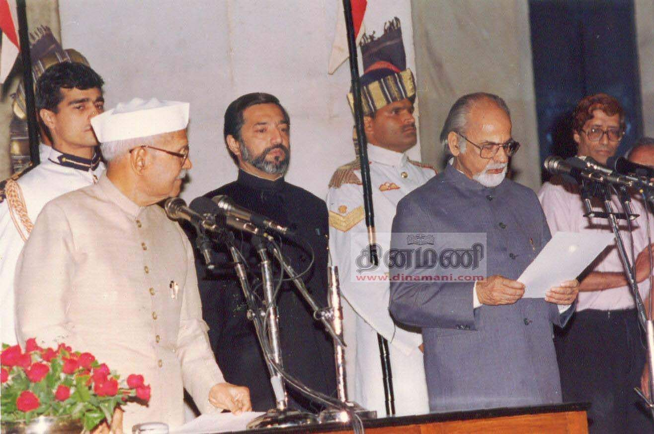 21-04-1997_-_Prime_Minister_Inder_Kumar_Gujral_Swearing-in_Ceremony