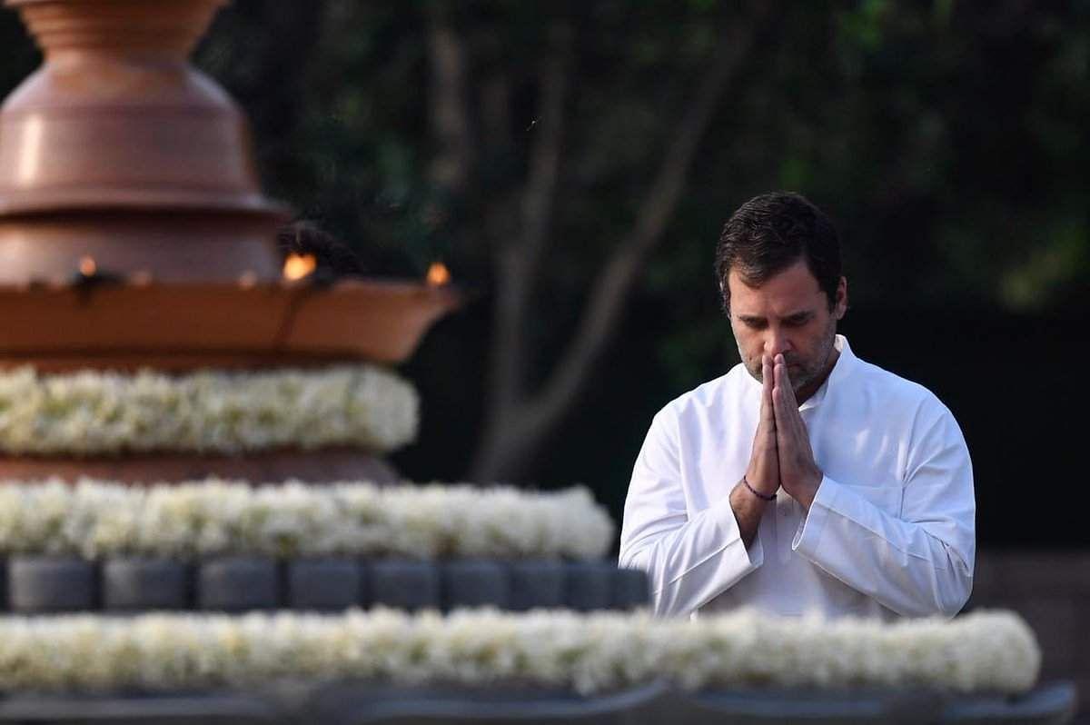 அனைவரையும் நேசிக்க எனது தந்தை தான் கற்றுக்கொடுத்தார்: ராகுல் உருக்கம் Rahul_tribute_to_rajiv