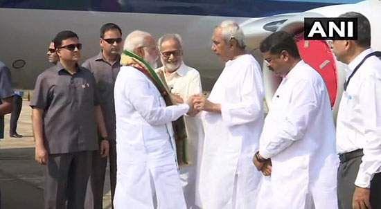 PM modi visit Odisha