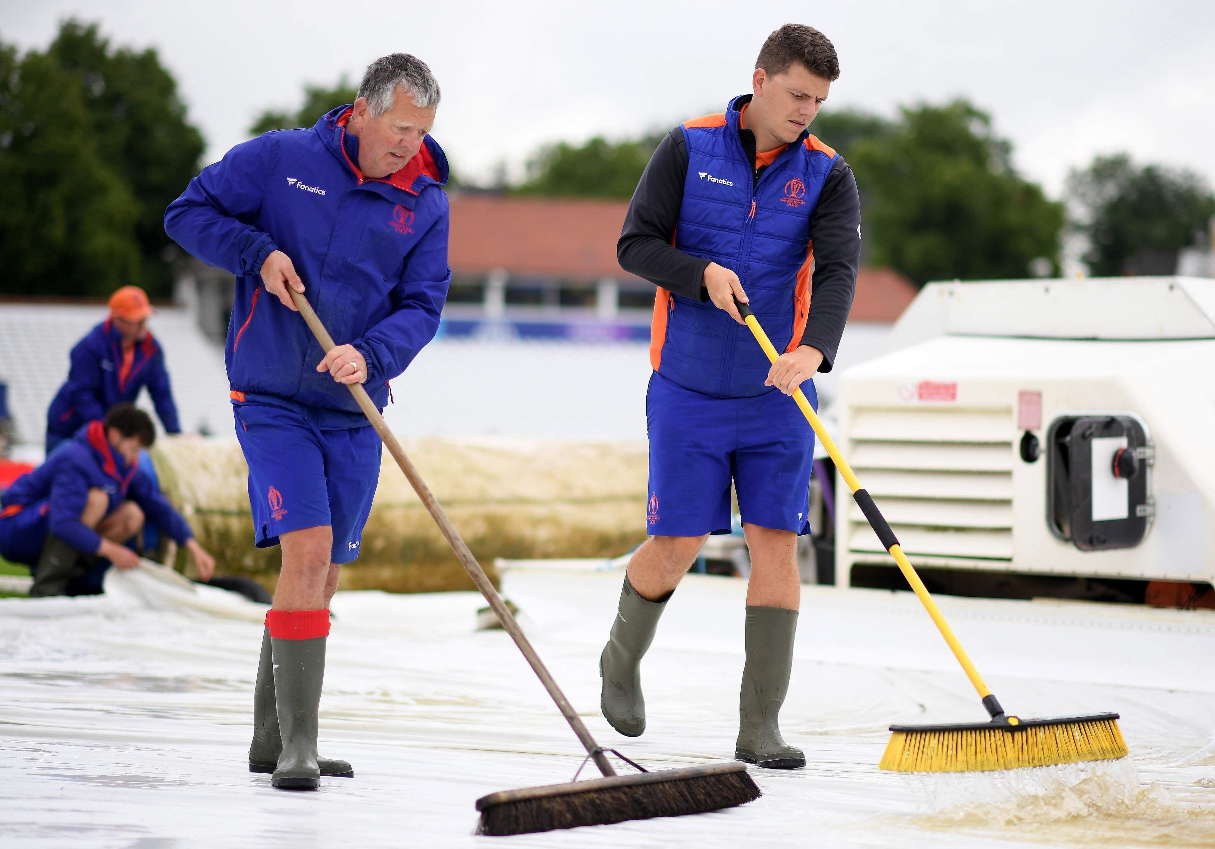 Trent Bridge Ground Staff