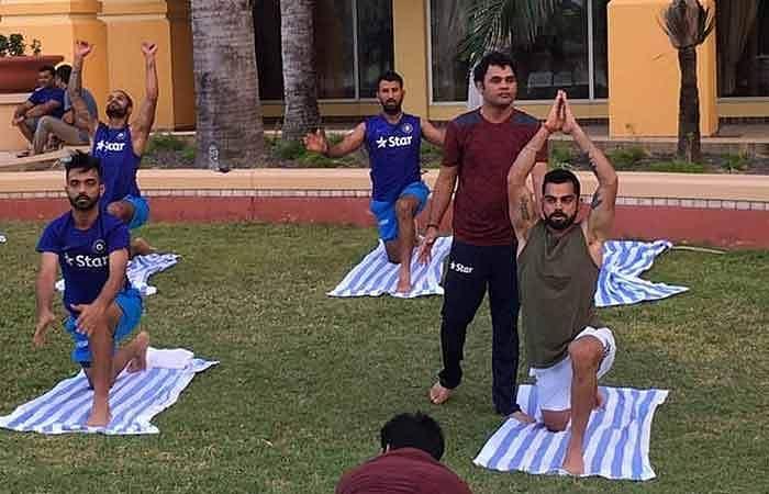 team-india-yoga-session-1