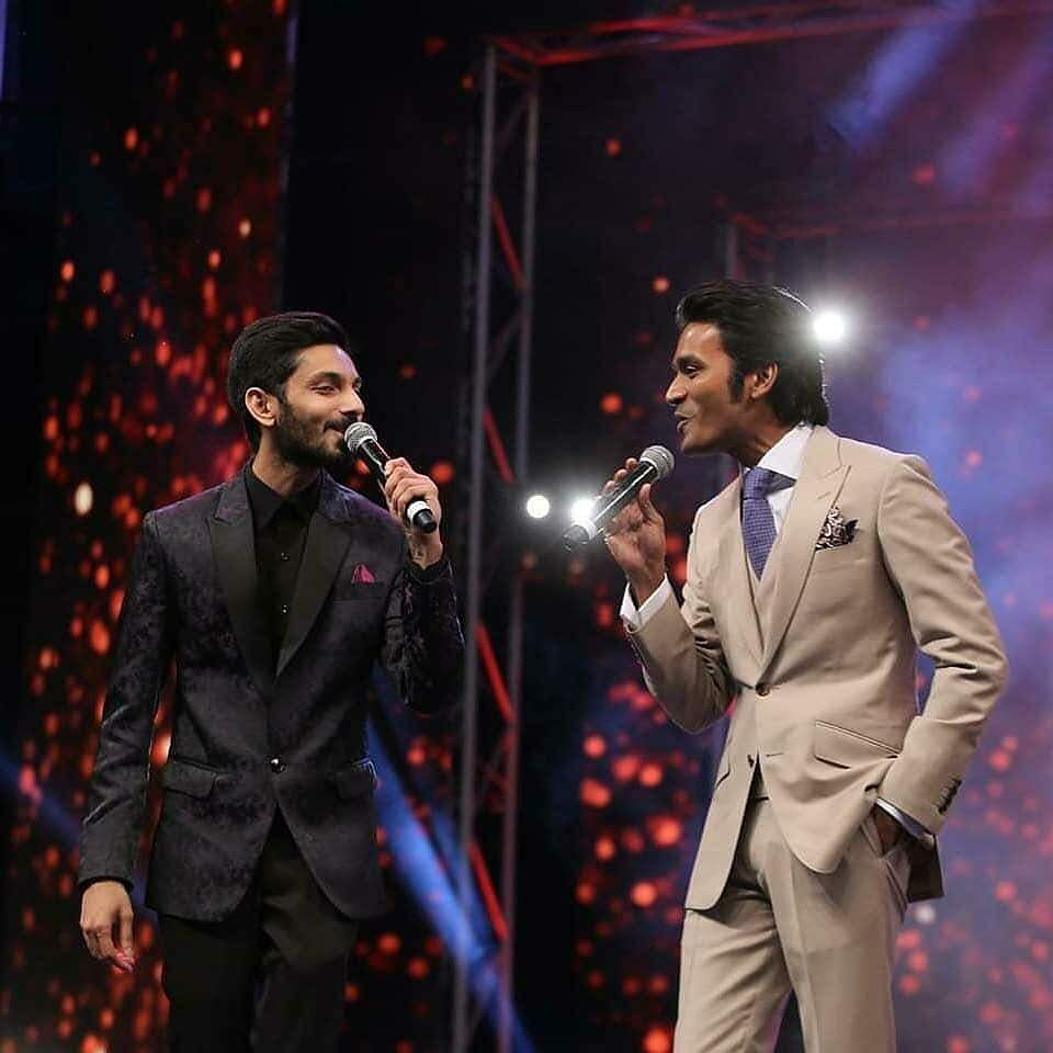 Dhanush and anirudh performances