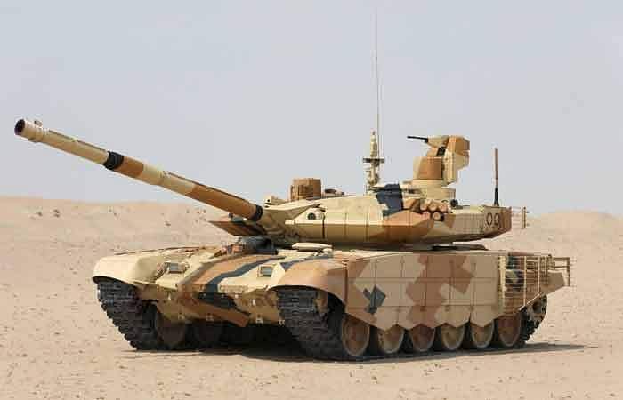 பயிற்சியின்போது வெடித்துச் சிதறிய பீரங்கி: விசாரணைக்கு ராணுவம் உத்தரவு T-90
