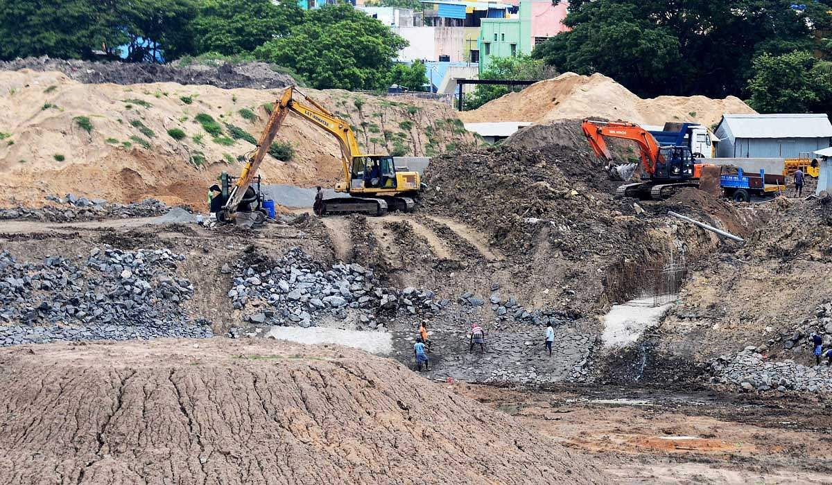 beautification of Villivakkam Lake