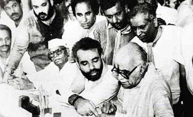modi with LK Advani