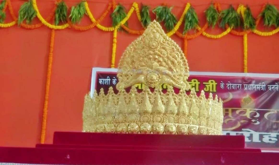gold_crown_to_Lord_Hanuman_at_Sankat_Mochan_Temple