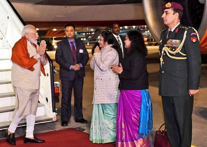 PM_Modi_flight_made_a_2-hour_technical_halt_in_Germany_on_the_way_to_USA