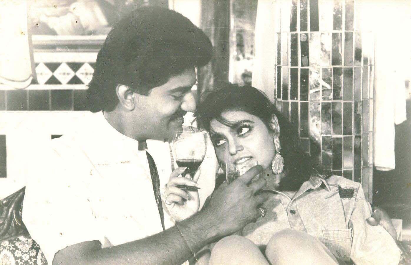 Silk smitha with Nepolian