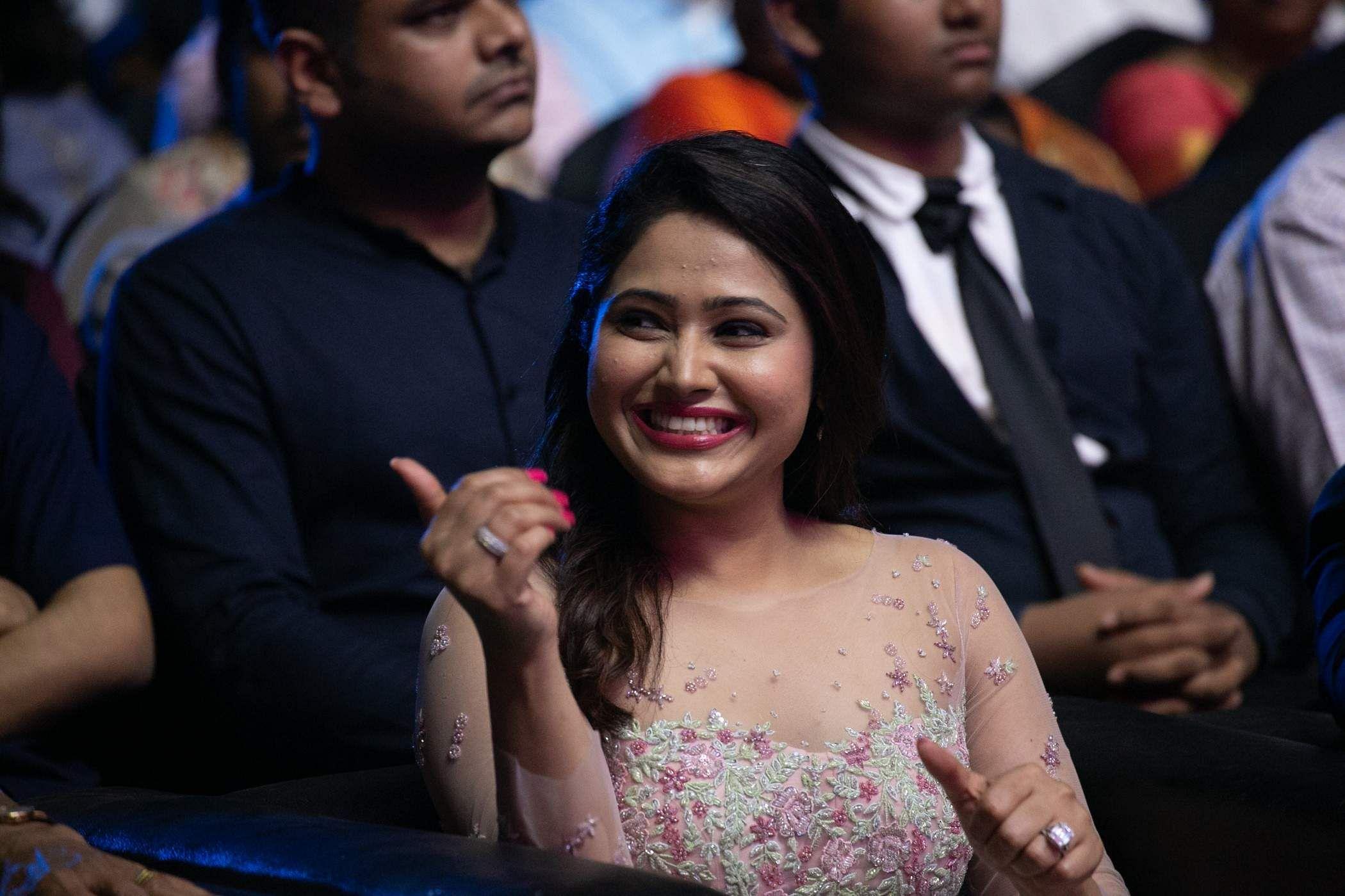 priya atlee in bigil audio launch
