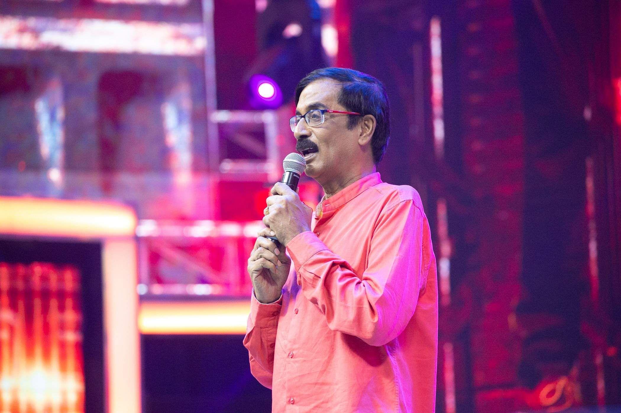 manobala in bigil audio launch