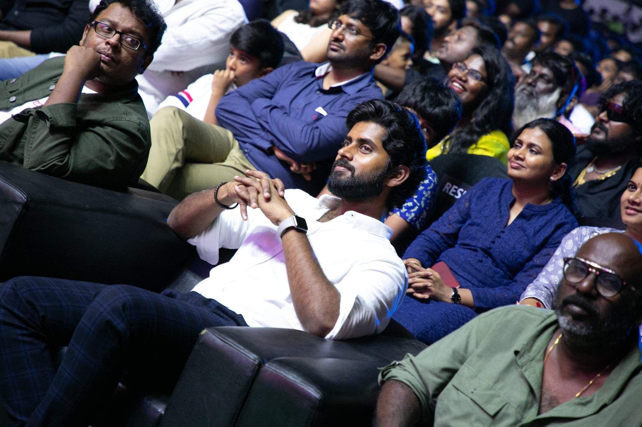 Actor kathir in Bigil audio launch