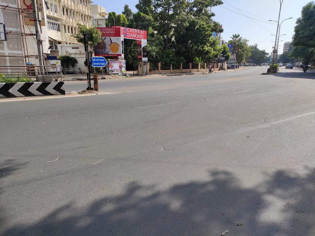 chennai_empty_roads_in_pongal_1