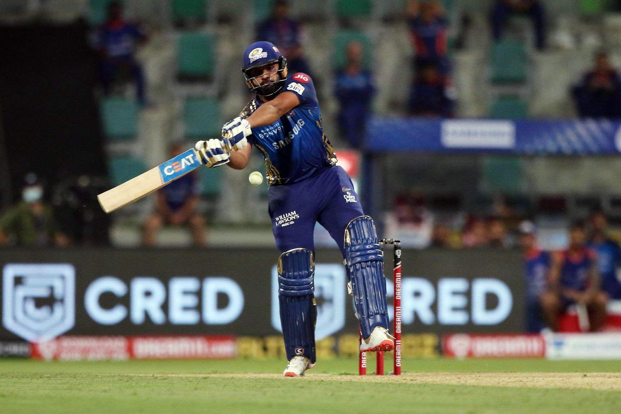 Rohit Sharma's record of 5000 runs in IPL series