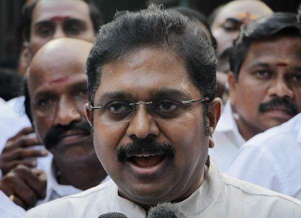 TTV Dinakaran condoles the death of AIADMK treasurer Vetrivel